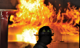 Fire, Flashover - the point at which a fire will overtake a home or building