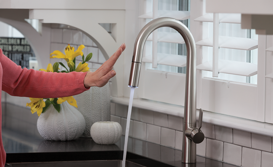 Danze's Did-U-Wave line of digital faucets expands with two kitchen products.