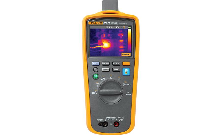 Fluke digital multimeter with thermal imager | 2016-05-25