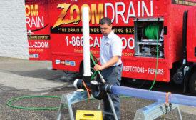 Zoom Drain technician