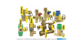 NIBCO announced it has acquired the valve assets of Webstone Co.