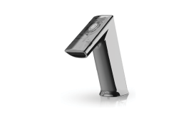 Sloan's BASYS faucet line features a turbine-powered option.