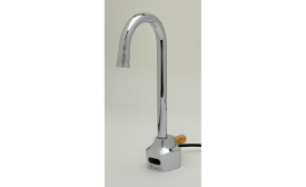 T&S Brass' ChekPoint line uses infrared sensors to control the flow of water.