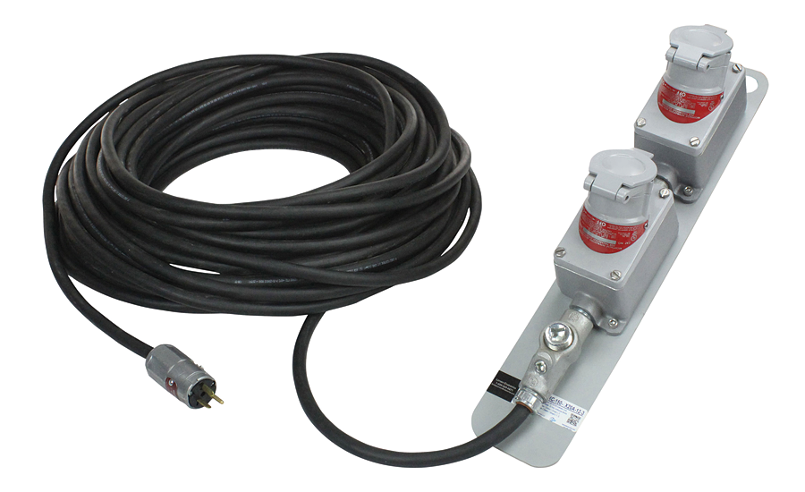 Larson Electronics explosion-proof extension cord