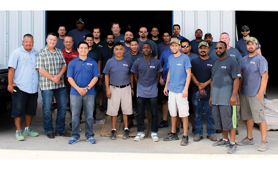 75 team members in four Texas locations