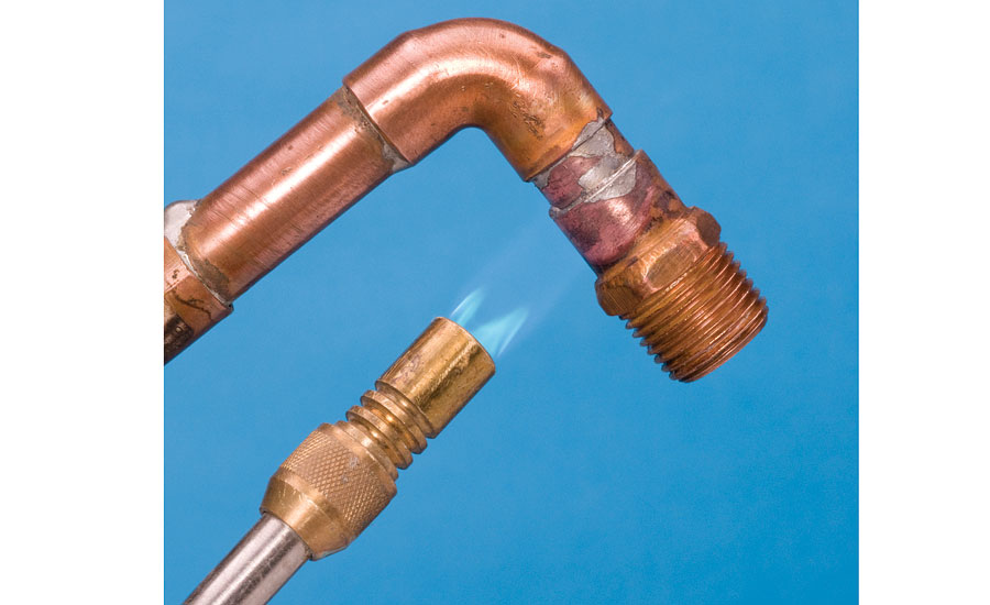 soldering copper pipe soldering vs brazing when piping is involved 2016 09 28 10094