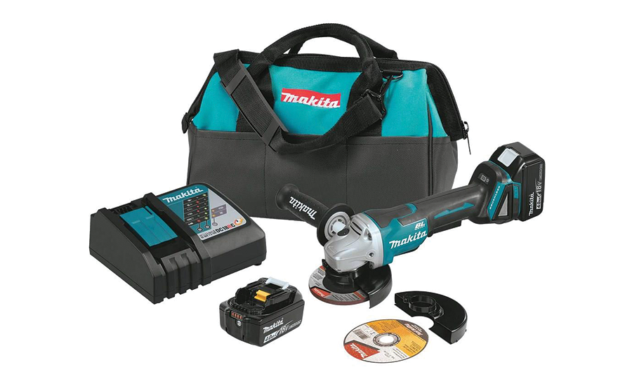 Makita brushless paddle switch grinder