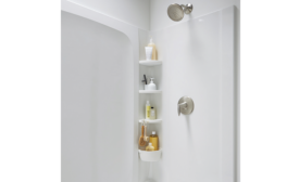 Sterling customizable shower shower