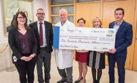 Ranger Design delivers donation to Montreal Neurological Institute
