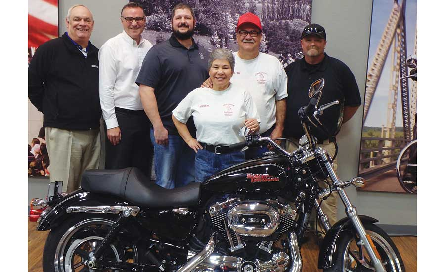 Armstrong announces winners of Harley Davidson motorcycle promotion