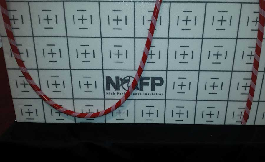 NOFP radiant floor insulation