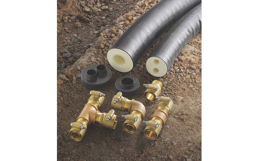 Viega ProRadiant insulated piping system