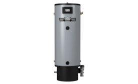 A. O. Smith's Polaris High Efficiency condensing gas water heater