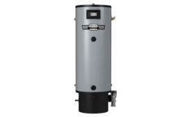 A. O. Smith's Polaris High Efficiency condensing gas water heater