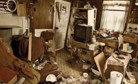 The hazards of hoarding to tradespeople