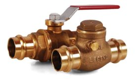 Legend no-lead and traditional forged-brass alloy valves