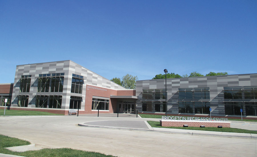 Bridgeton Recreation Center is located in Bridgeton, Missouri