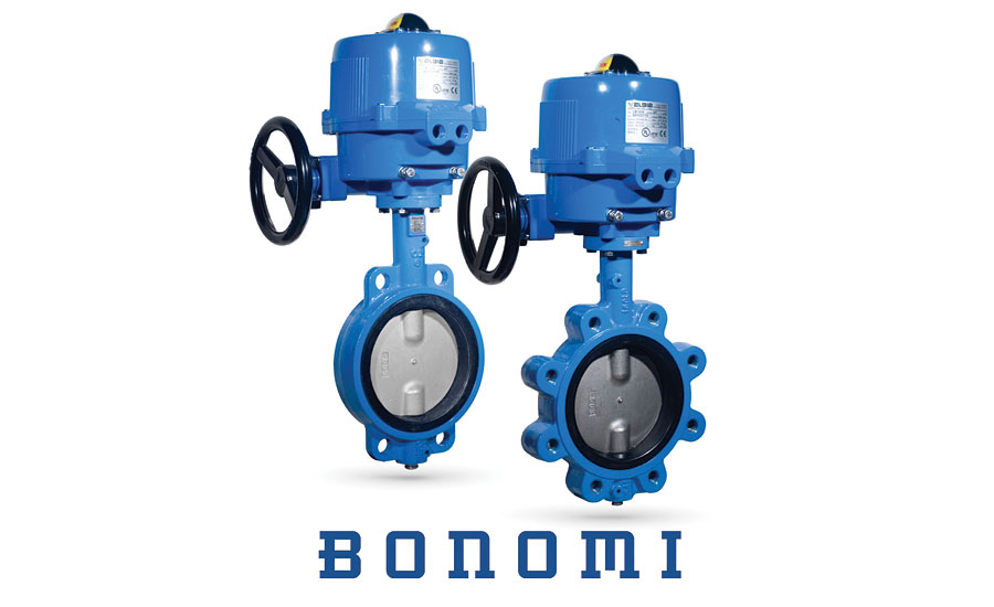 Bonomi NSF-certified Butterfly Valves