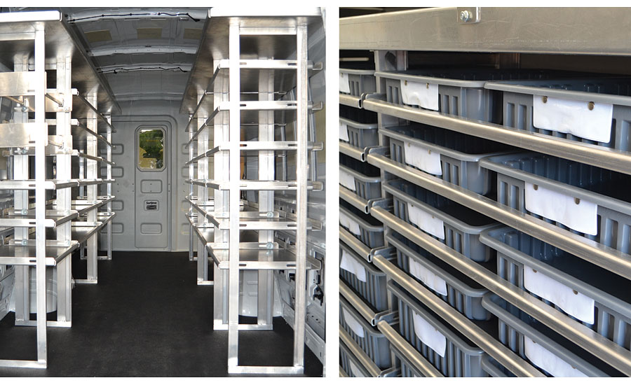 Hackney's Sprinter Van Shelving Packages