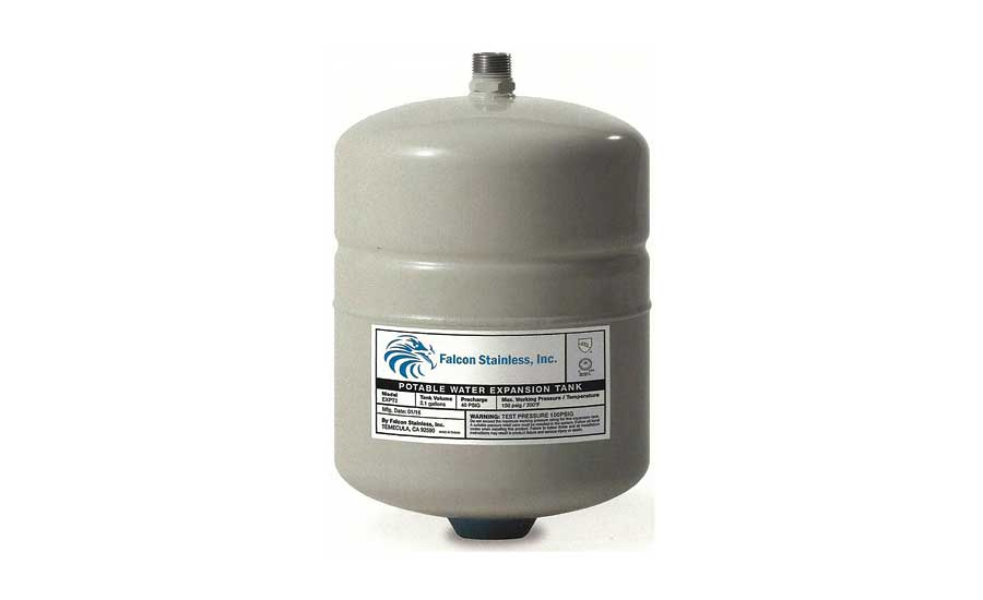 Falcon Stainless potable water expansion tanks
