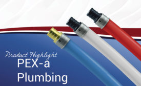 MrPEX PEXa plumbing system