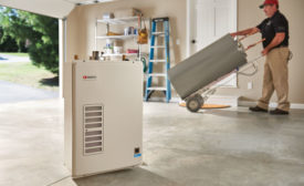 Noritz tankless water heater outdoor kit (KBIS/IBS Preview)
