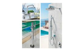 Outdoor Shower Co. Stainless Steel Showers