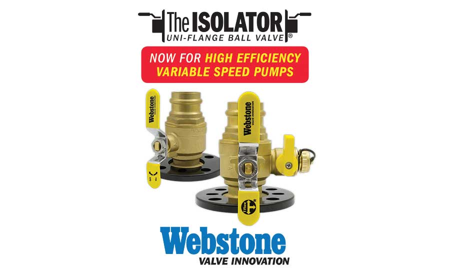 Webstone Isolator with Round Flange