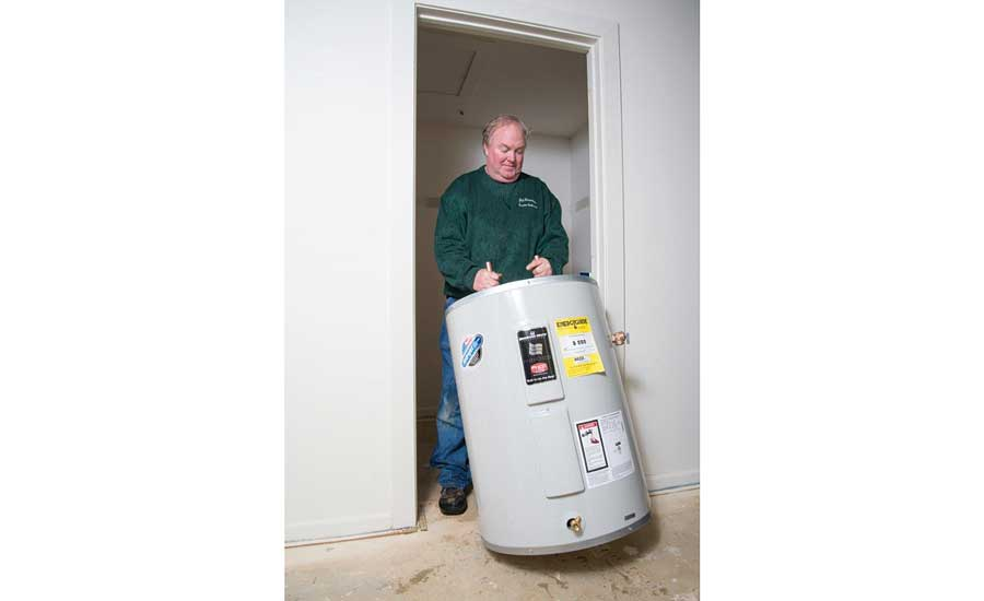 Sheridan rolls a new water heater