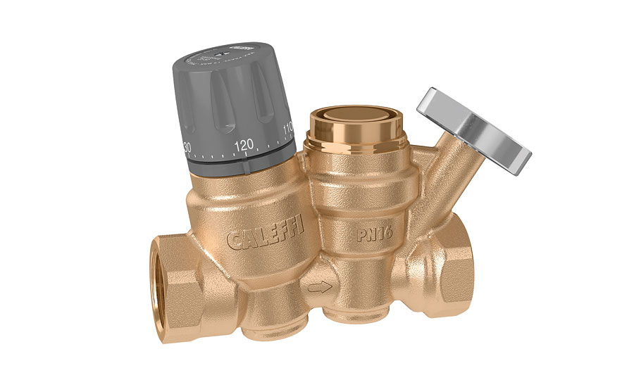 Caleffi adjustable thermal balancing valve