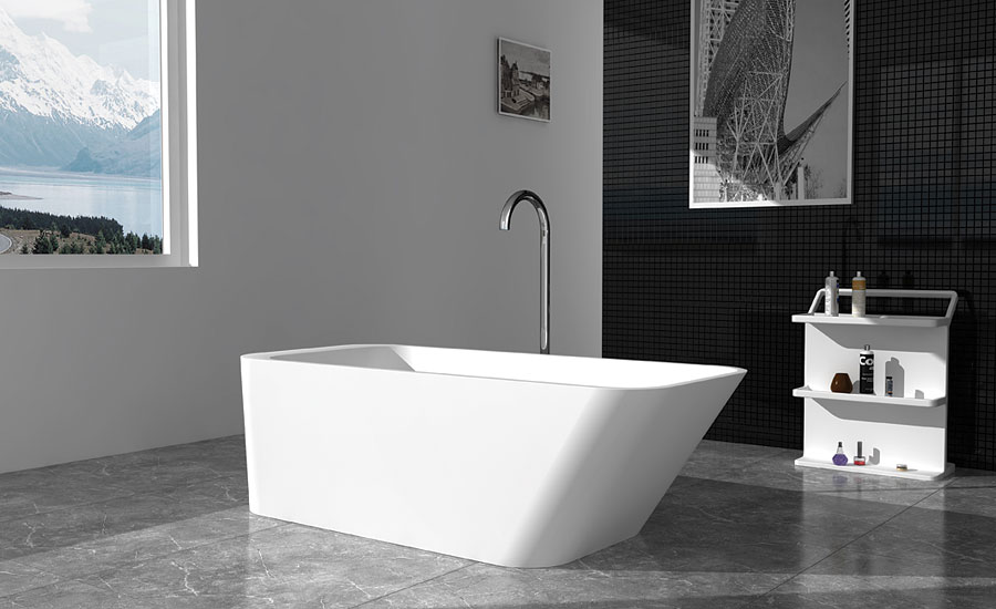 Chevoit solid surface bathtub