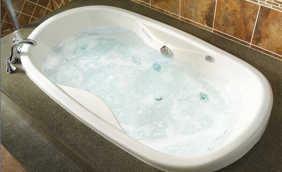 Mansfield Plumbing Swirl-away Combination Whirlpool and Air Massage Bath System