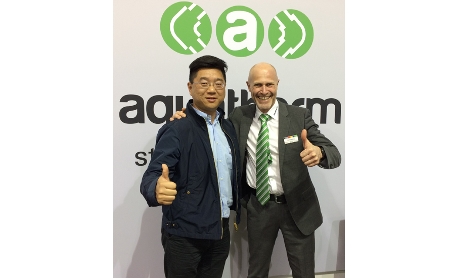 Aquatherm China's George Teng