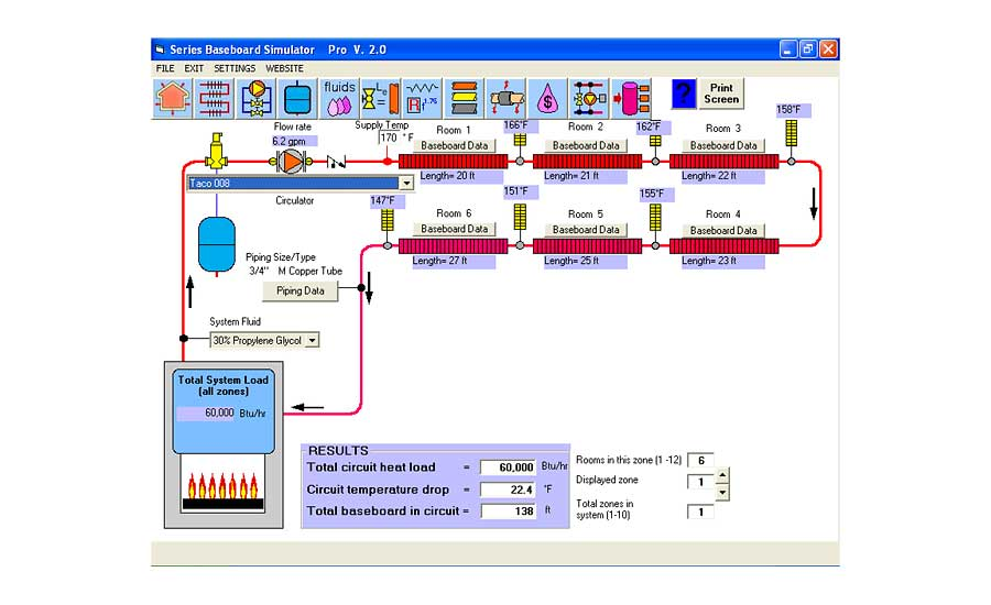 Figure 2 shows a screen shot of the Series Baseboard Simulator module from this software