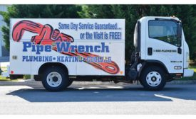 Truck of the Month: Pipe Wrench Plumbing, Heating & Cooling, Knoxville, Tenn.