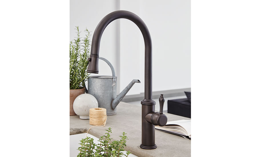 California Faucets'  kitchen faucet
