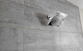 Moen Velocity square showerhead