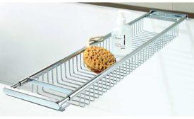 Dezi Home Contemporary Expandable Bath Rack