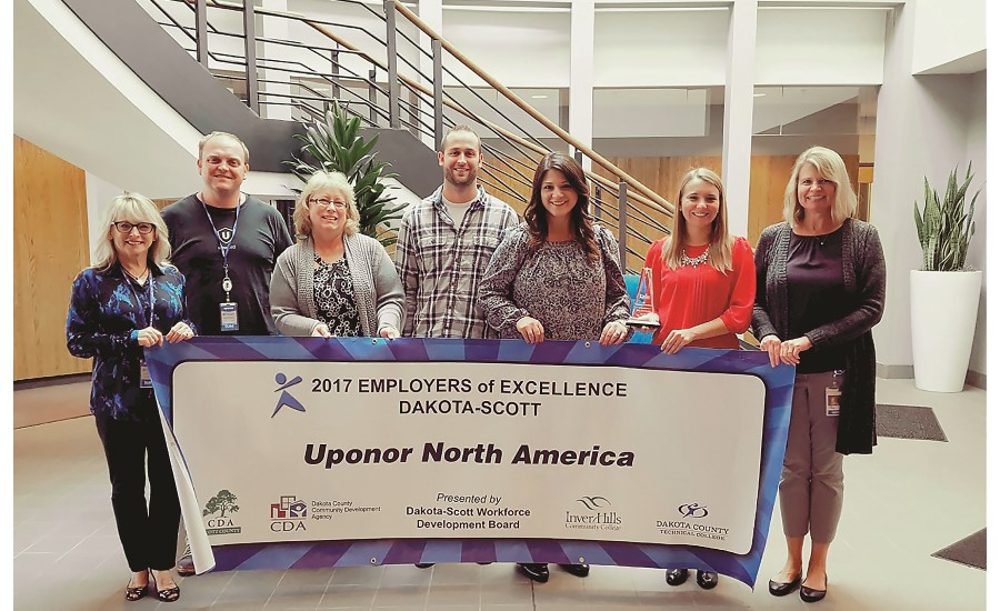 Uponor Employer of Excellence