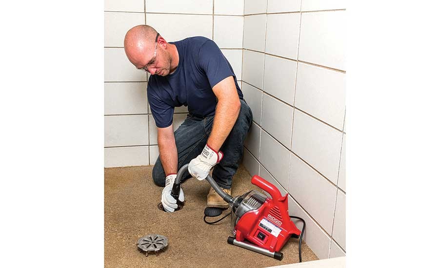 RIDGID Power-Clear drain cleaning machine