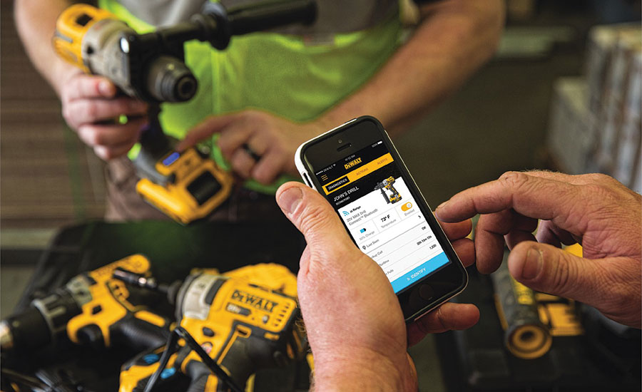 DeWalt's Tool Connect Inventory-management System