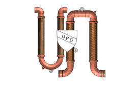 Metraloop UPC-listed expansion joints