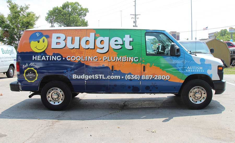Truck Of The Month Budget Heating Cooling Plumbing St Peters Mo 2017 09 25 And Mechanical