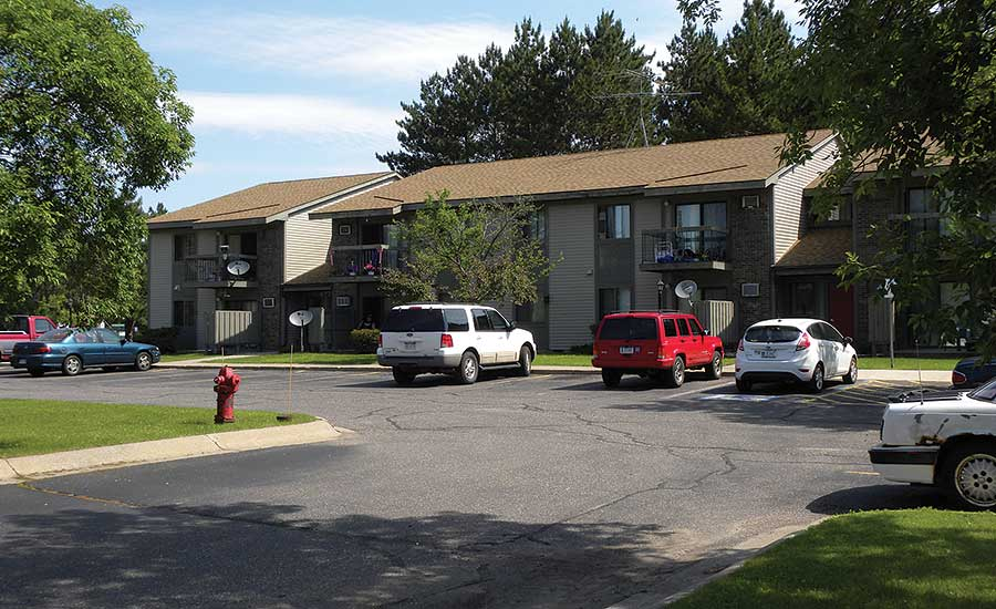The 32-unit Diamondhead Apartment complex is located in Kingsford, Mich