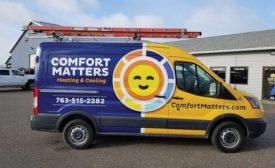 Emoji truck wrap shines bright
