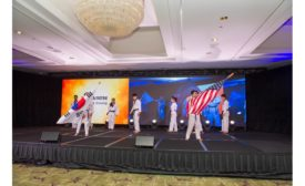 Flag Performance at 1MU Navien Celebration