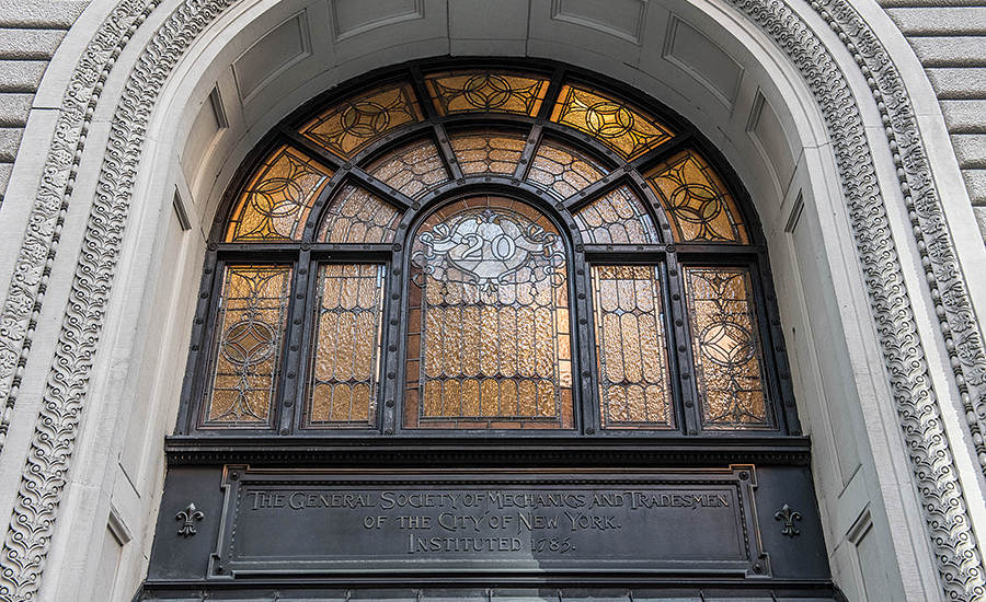 The General Society of Mechanics and Tradesmen of the City of New York has a unique home