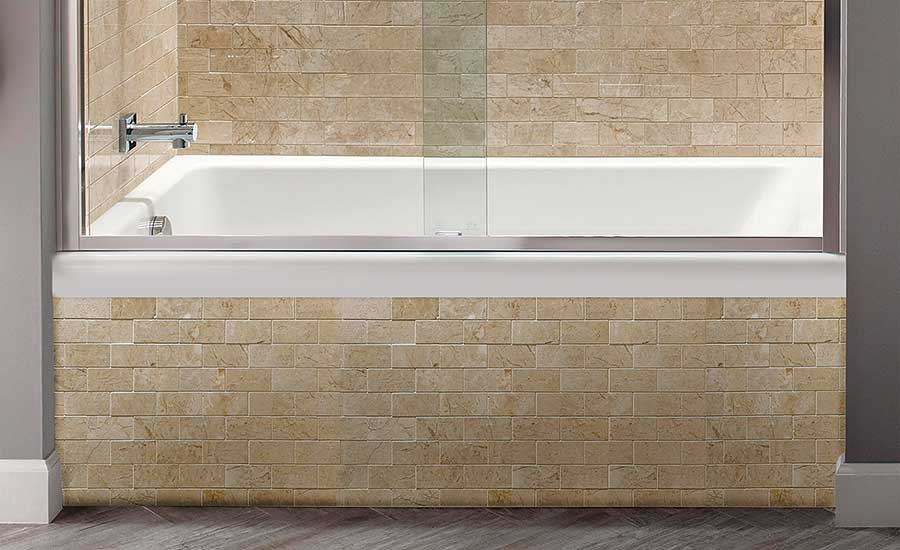 American Standard Studio Fold Over Edge tub