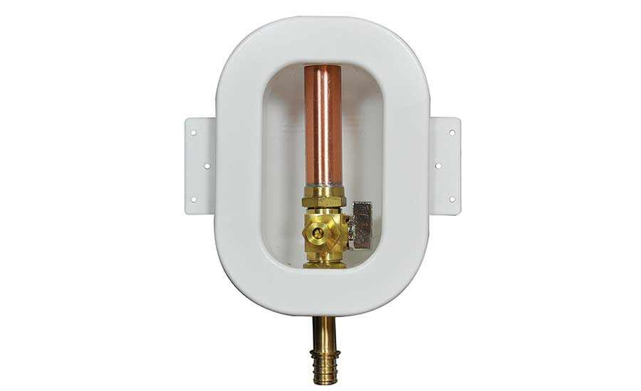 LSP outlet boxes, angle valves, water heater connectors