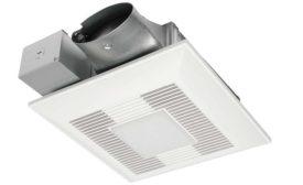 Panasonic customizable bathroom ventilation fan
